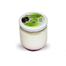 jogurt velký s višňovou příchutí 320g