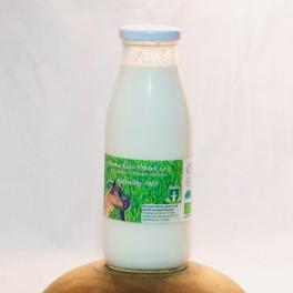 BIO kozí mléko 0,5 litr (vratné sklo) (Kozí Hrádek)