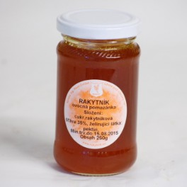 Rakytníkový extra výběrový džem
