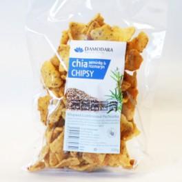 Chipsy chia semínka a rozmarýn