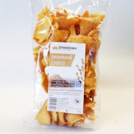 Chipsy sezamové